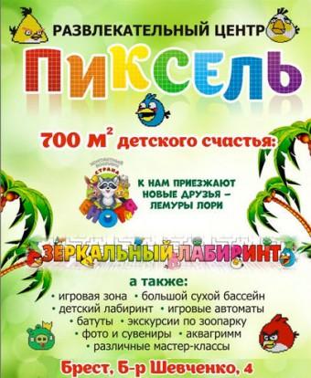Развлекательный центр  Пиксель   г. Брест  Беларусь