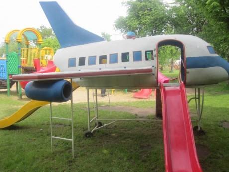 Детская площадка - Самолетик BR Парк развлечений  Дримлэнд  DreamLand