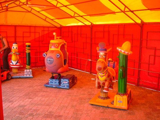 Детские качалки BR Парк развлечений  Дримлэнд  DreamLand