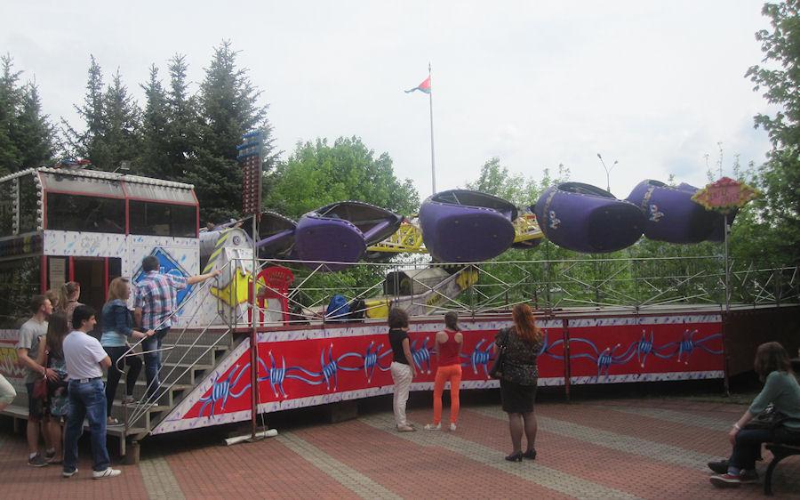 Аттракцион  Центрифуга   Космические кабинки  BR Парк развлечений  Дримлэнд  DreamLand