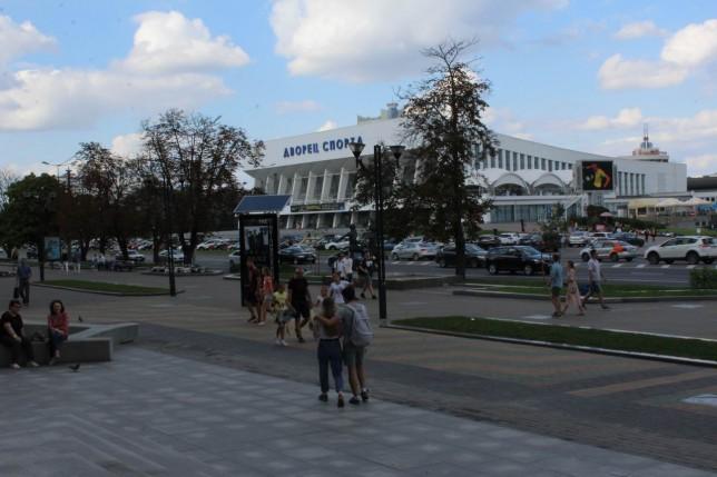 у Дворца Спорта   г. Минск  10 июня 2017