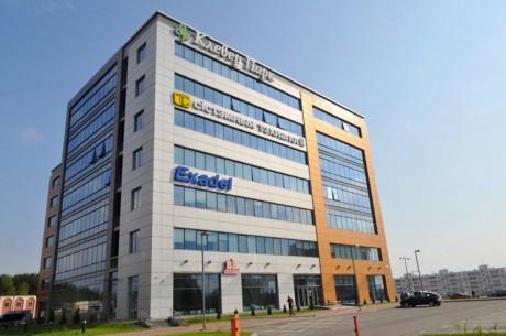 EPAM Systems  в бизнес-центре  Клевер Парк  на Купревича   г. Минск  Беларусь