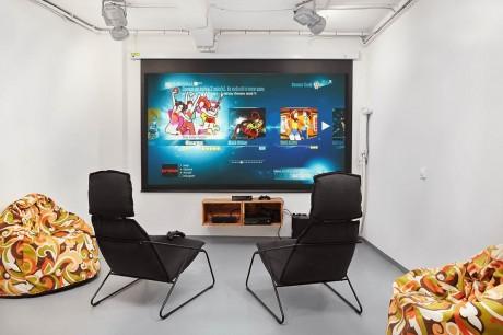 Игровая комната для активного отдыха