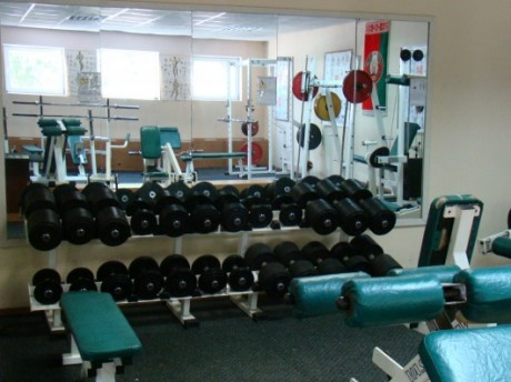 Тренажерный зал спорткомплекса  Раубичи