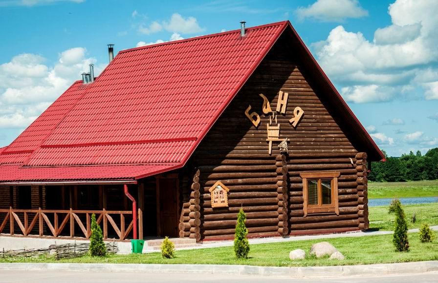Баня в центре экологического туризма  Станьково  BR Минская область  Беларусь