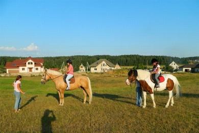 Катание на лошадях  Центр Конного Спорта Минский район  аг Ратомка