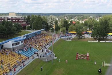 Стадион  поле для верховой езды   Центр Конного Спорта Минский район  аг Ратомка