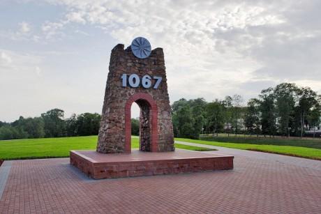 Самый древний памятник  Замчище    или Городище  BR здесь много веков назад стоял Оршанский замок  BR г. Орша  Беларусь