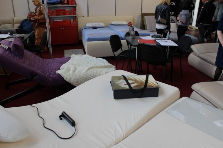 Кровати  на выставке  Мебель - 2017  г. Минск  Футбольный Манеж  с 14 по 17 сентября 2016 года