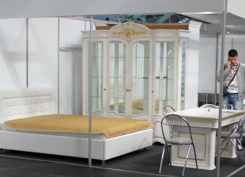 Спальня  на выставке  Мебель - 2017  г. Минск  Футбольный Манеж  с 14 по 17 сентября 2016 года