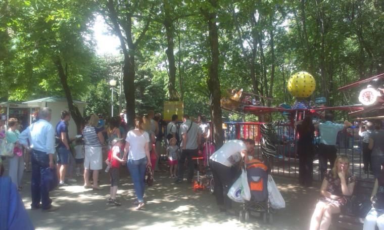 28 мая 2016  днем  в парке Горького
