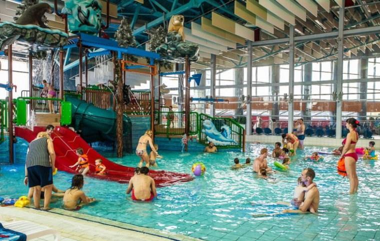 Детская аквазона  в  Аквапарке Лебяжий  г. Минск  проспект Победителей  120