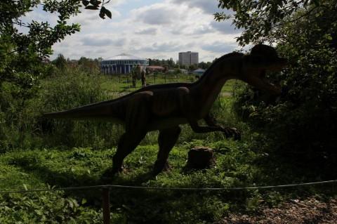 Динопарк  в Минском Зоопарке  27 августа 2016   г. Минск  улица Ташкентская  40