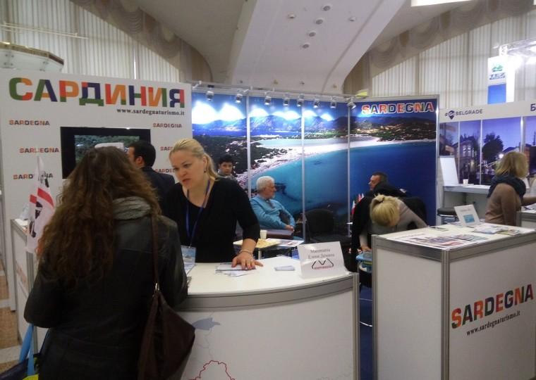 Сардания  на  туристической выставке  Отдых-2017   10 апреля 2017 Выставочный комплекс  БелЭкспо   Минск