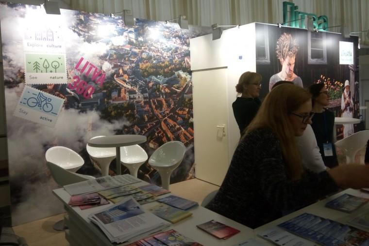 Литва  на  туристической выставке  Отдых-2017   10 апреля 2017 Выставочный комплекс  БелЭкспо   Минск