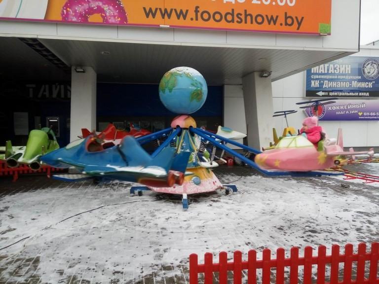Детская площадка на  фестивале еды и напитков  Фуд Шоу    4 декабря 2016  г. Минск  Дворец Спорта
