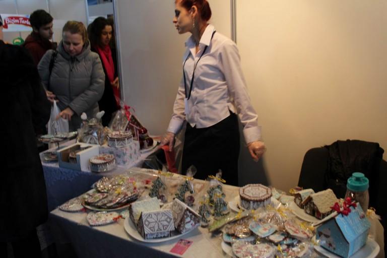 Пряники на  фестивале еды и напитков  Фуд Шоу    4 декабря 2016  г. Минск  Дворец Спорта