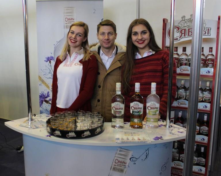 Настойка  Сябры  на  фестивале еды и напитков  Фуд Шоу    4 декабря 2016  г. Минск  Дворец Спорта
