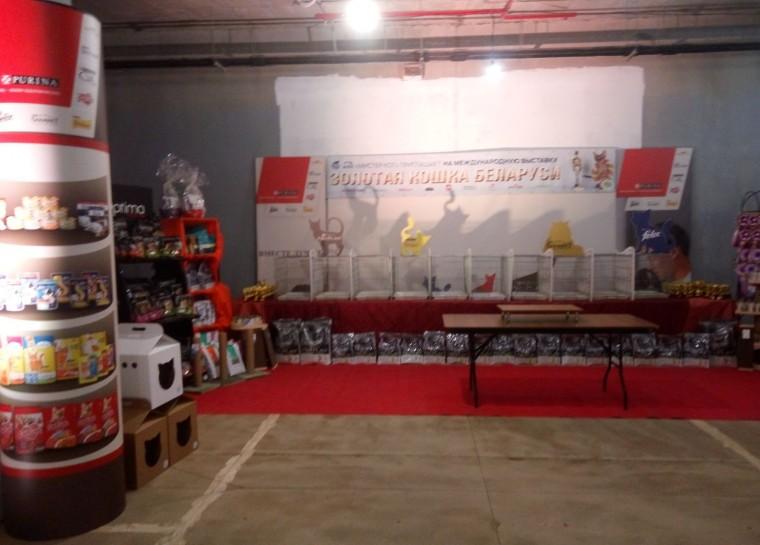 Выставка  Золотая Кошка Минска - 2017    10 июня 2017   г. Минск  проспект Победителей  9