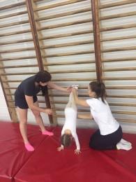 Индивидуальное занятие по гимнастике