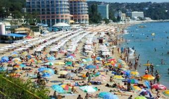 пляж курорта  Святого Константина и Елены