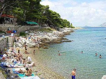 пляжи Цавтата
