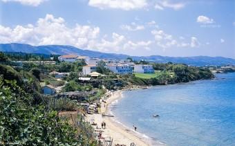 пляж на острове Закинф