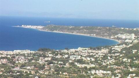на горе Монте-Смит  город Родос  Греция