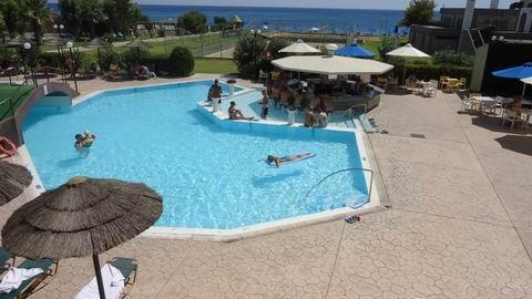 бассеин отеля Olympos Beach 4*  остров Родос  Греция