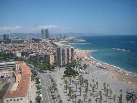 пляж Барселоны BR г. Барселона  Испания