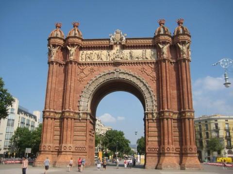 Триумфальная Арка BR г. Барселона  Испания