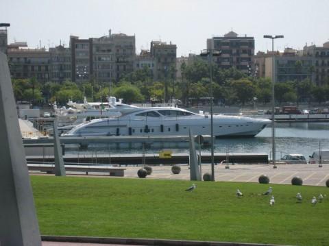 яхта BR г. Барселона  Испания