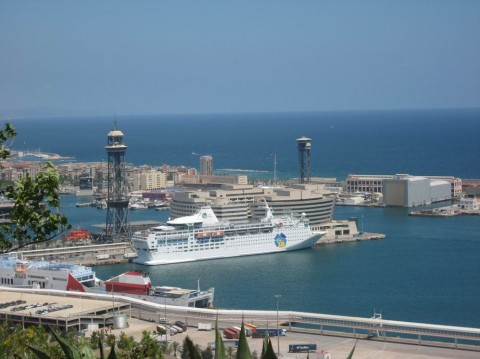 порт BR г. Барселона  Испания