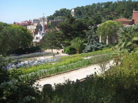 Парк Гуэль  Parc Guell  BR г. Барселона  Испания