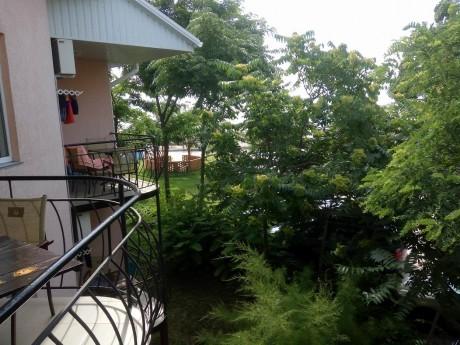 Балкон в корпусе 1   16 июля 2017  База отдыха  Рось   Украина  Одесская область  Затока