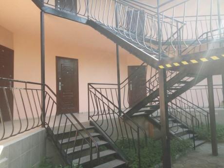 Внутренний двор корпуса 1   16 июля 2017  База отдыха  Рось   Украина  Одесская область  Затока