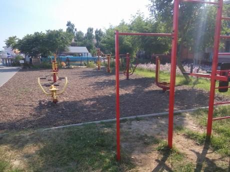 Спортивная площадка   16 июля 2017  База отдыха  Рось   Украина  Одесская область  Затока