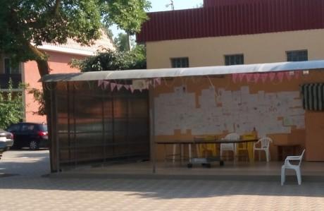 Теннисный стол   16 июля 2017  База отдыха  Рось   Украина  Одесская область  Затока