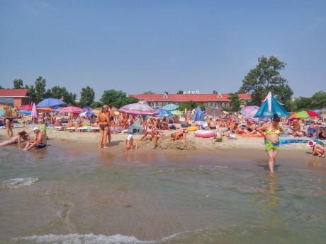 Пляж  море   июль 2017  База отдыха  Рось   Украина  Одесская область