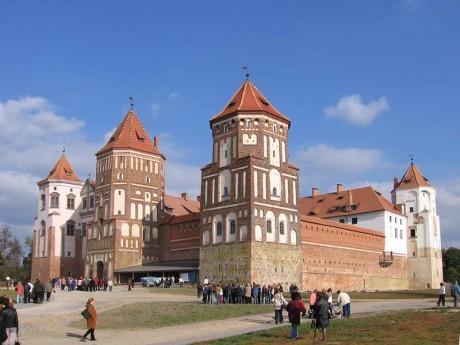 Мирский замок  Гродненская область  Беларусь