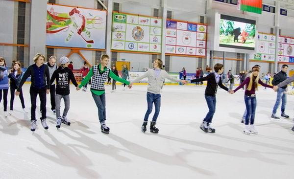 Катание на коньках BR Ледовый Дворец  г. Лида  Беларусь