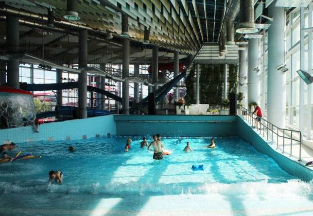 Волновой бассейн BR аквапарк  Лебяжий   г. Минск