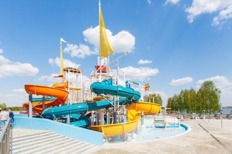 Аквапарк  Лебяжий   г. Минск  Беларусь