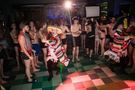 вечеринка  Mexicano Aqua Party  в аквапарке Лебяжий BR г. Минск  аквапарк Лебяжий  15 ноября 2014