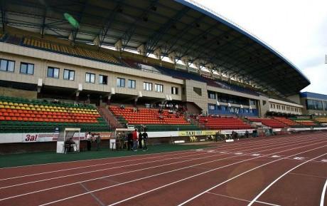 стадион  легкая атлетика  Центр олимпийской подготовки по легкой атлетике г. Минск  Беларусь