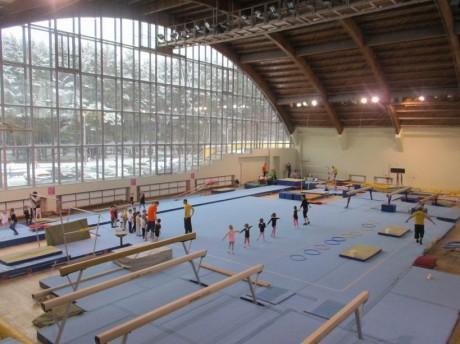 Зал спортивной гимнастики  Центр олимпийской подготовки по легкой атлетике г. Минск  Беларусь