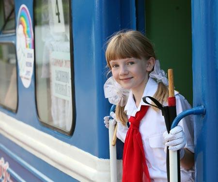 Детская железная дорога   г. Минск  Беларусь