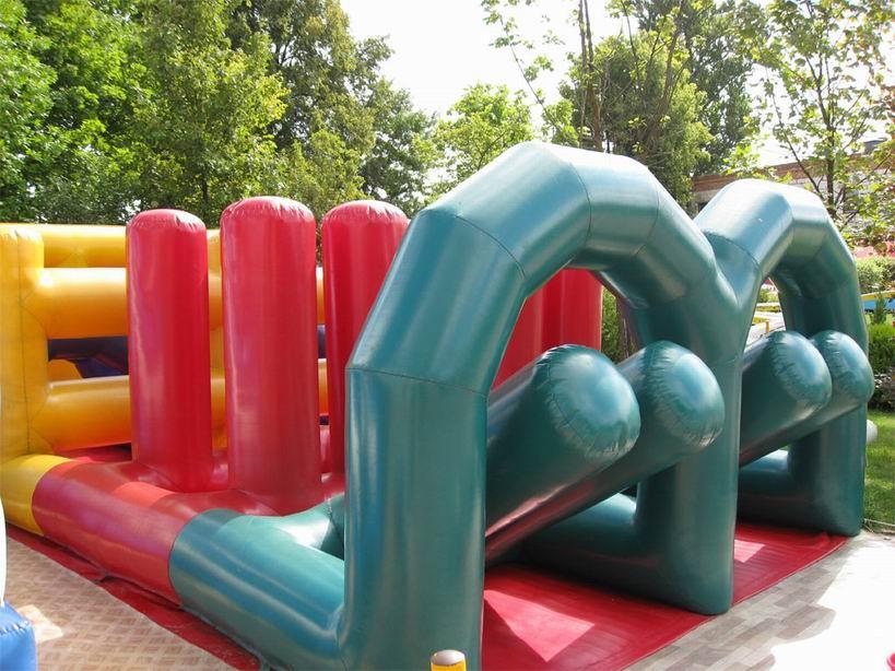 Надувная горка для детей BR Парк развлечений  Дримлэнд  DreamLand