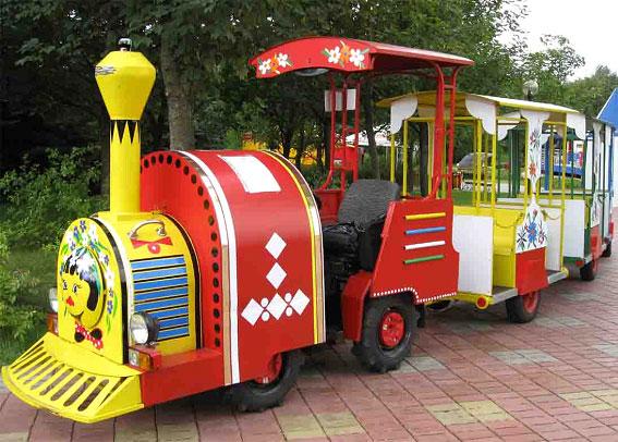 Детский паравозик BR Парк развлечений  Дримленд  DreamLand