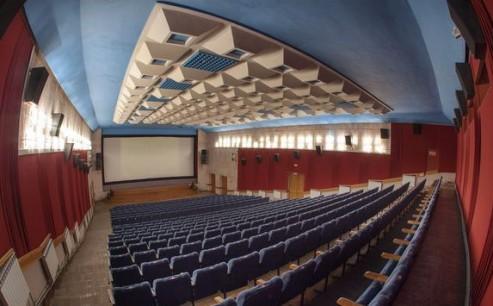 Зал  кинотеатр  Победа   г. Минск  Беларусь